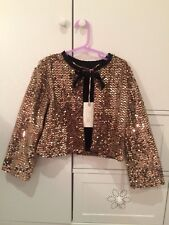 miss grant gold sequin jacket
