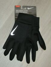 Nike Mens Thermal Running Gloves Touchscreen Black XL