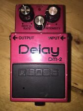 Boss DM-2 Analog Delay Pedal Vintage 1982 MN3205 Chip