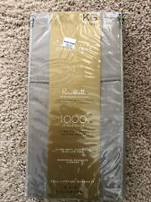 Wamsutta Dream Zone King Pillowcases - Set of 2 - 1000 Thread Count/Grey Solid