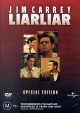 Liar Liar (Special Edition) Jim Carey Carrey New DVD R4