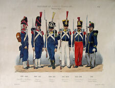 Infanterie Gendarmerie Polizei Uniform Bajonett Tschako Tschapka Karabiner