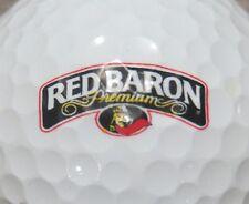 (1) Red Barron Premium Pizza Frozen Logo Golf Ball