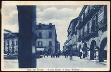 cartolina CAVA DEI TIRRENI-piazza duomo e corso umberto I