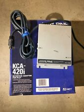 ALPINE KCA-420i iPOD ADAPTER Car Audio Stereo w/Cable