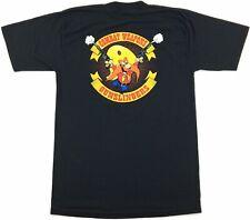 Vintage Security Police Usaf 'Combat Weapons Gunslingers' Yosemite Sam T-Shirt