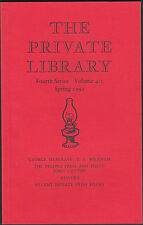 George Musgrave. Priapus Press & Poets.  Private Library   E3.180