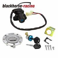 For Yamaha YZF R1 R6 FZ6 FZ1 Ignition Switch Gas Cap Cover Seat Lock Key Set New