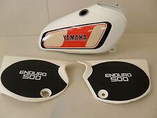 Yamaha XT500D 1977 Modello Completo Verniciatura Kit Decalcomanie