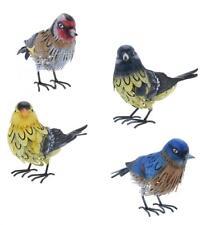 Realistic Metal Bird Outdoor Garden Ornament Sculpture Decoration