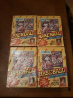 Lot of 4 1991 DONRUSS BASEBALL WAX BOXES  SERIES 1 Case Fresh