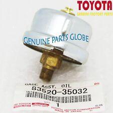 NEW TOYOTA GENUINE 4RUNNER COROLLA SUPRA GENUINE OIL PRESSURE GAGE 83520-35032
