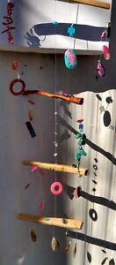Suncatchers mobiles sculpture Gemstone