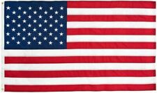 3x5 American Flag Made in USA Stars Embroidered Sewn Grommets Stripes Nylon 2day