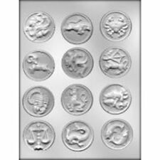 Zodiac Sign Chocolate Candy  Mold  Sign astrology Celestial Horoscope Birthday