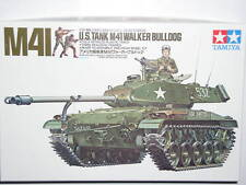 Tamiya 1/35 US M41 Walker Bulldog Military Model Tank Kit #35055