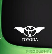 TOYODA  FUNNY STICKER JDM TOYOTA COROLLA STARLET GT RAV4  YARIS