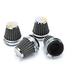 4x 52MM Air Filters Pod Fit Suzuki Katana GSX1100F GSX600F GSXR750 GSXR1100 Cone