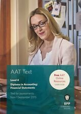 AAT Level 4 Financial Statements Text Book