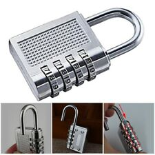 Waterproof Padlock 4-digit Security Combination Lock for Sheds Gym Toolbox US