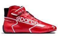ZAPATOS SPARCO RACING NEW FORMULE RB-8.1 ROJO-BLANCO HOMOLOGADO FIA 001251
