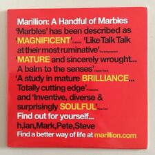 MARILLION A Handful Of Marble PROMO CD/DVD