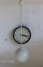 """Klara i"" péndulo lámpara Opal bolita de vidrio Bauhaus RDA Design Pendulum lamp Glass"