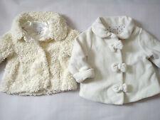 NICE NEXT WINTER AUTUMN BABY GIRL BUNDLE JACKETS FUR 12/18 MTHS (0.5)