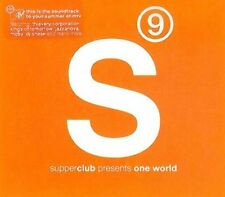 Supperclub 9 Presents One World 2cds 2005 Thievery Corporation