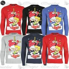 Unbranded Acrylic Crewneck Jumpers for Men