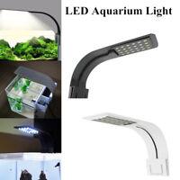 Aquarium Light Super Slim LED Pflanzen Wachsen Beleuchtung Clip on Lampe EU