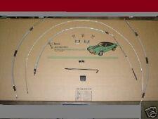 Camaro 67 68 69 11pc Emergency Park Brake Cable Kit E Cables Firebird ta formula