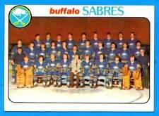 1978-79 Topps BUFFALO SABRES Team Card (ex-)