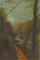 A. Andrew - 20th Century Oil, River Landscape