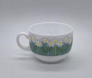 Arcopal France Florane Flat Cup Coffee HTF.