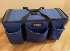 Lakewood Fishing Tackle Bag With 9 Plastic Tackle Boxes