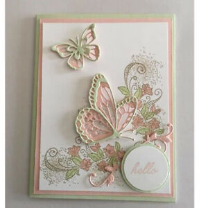 3D Layered Butterfly Metal Cutting Dies Christmas Card Scrapbooking Cards Making