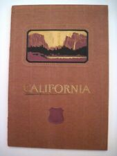 """1924 Travel Booklet """"California"""" by """"Union Pacific System"""" w/ Lovely Cover *"""