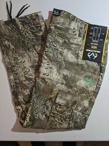 Realtree Men's Cargo Pants-Side Elastic waistband Realtree several sizes