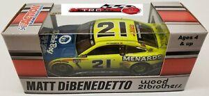 Matt DiBenedetto 2021 Lionel #21 Menard's/Dutch Boy Ford Mustang 1/64 FREE SHIP!