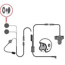 For Motorola XTS HT MTX EF Johnson Quick Release Helmet Headset Boom Microphone