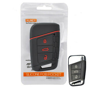 For VW PASSAT B8 For Skoda Kodiaq  Superb A7 Silicone Remote Key Case Fob Cover