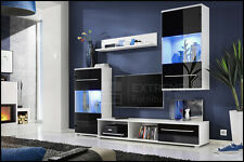 TV Stand LED Modern Entertainment Center Wall Unit Media Living Room Furniture