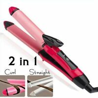 Electric Hair Curler Tourmaline Ceramic Straightening Curling Iron Styling Tools