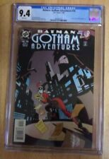 BAT MAN GOTHAM ADVENTURES #10 1999 SWEET SHARP CGC 9.4 WHITE HARLEY QUINN COVER