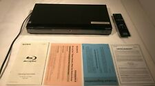 SONY BDP-S560 BLU-RAY/DVD PLAYER WITH REMOTE & ORIGINAL OWNERS MANUAL