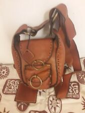 women genuine leather bag Brown Handmade sami amin