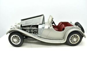 Model Car Jaguar Ss 100 Scale 1/18 diecast vehicles Burago collection