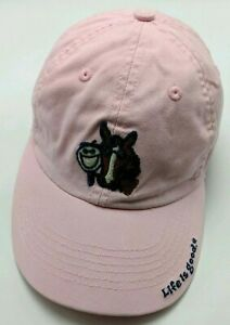 LIFE IS GOOD HORSE & OWNER pink adjustable cap / hat -  Baby Toddler size