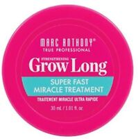 Marc Anthony Grow Long Super Fast Miracle Treatment 1.01 oz (Pack of 2)